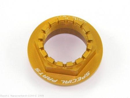 Rear Wheel Axle Nut by Ducabike Ducati / Hypermotard 1100 S / 2009