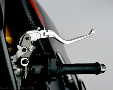 Folding Brake And Clutch Levers by MotoCorse Ducati / 1199 Panigale R / 2015