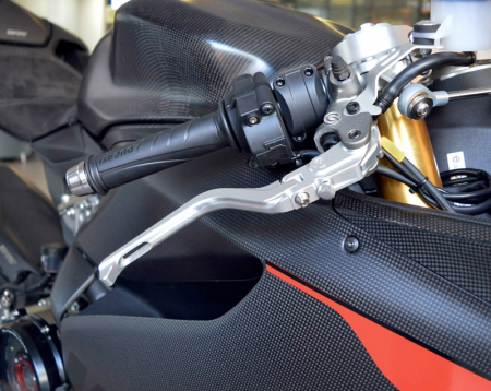 Folding Brake And Clutch Levers by MotoCorse