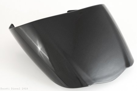 Carbon Fiber Rear Seat Cowl Cover by MotoCorse Ducati / Diavel / 2010