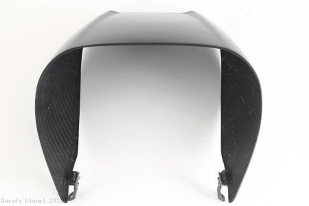Carbon Fiber Rear Seat Cowl Cover by MotoCorse Ducati / Diavel / 2012
