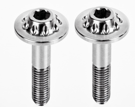 Titanium Rear Subframe Bolts by MotoCorse