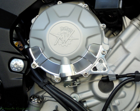 Clutch Cover Engine Guard by MotoCorse MV Agusta / Rivale 800 / 2016