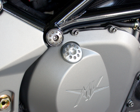 Oil Filler Cap by MotoCorse MV Agusta / F4 1000 / 2005