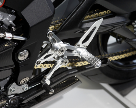 Rearsets by MotoCorse MV Agusta / F3 675 / 2017