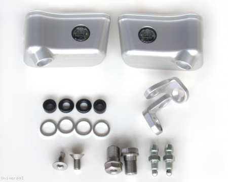 Billet Reservoirs for Brembo RCS Master Cylinders - Sportbike version by MotoCorse Universal