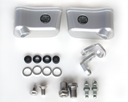 Billet Reservoirs for Brembo RCS Master Cylinders - Sportbike version by MotoCorse