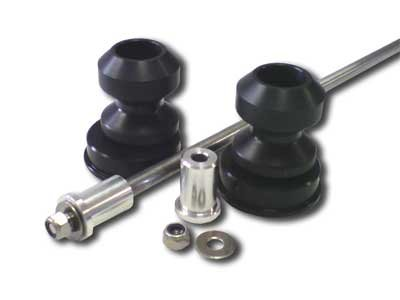 Spool Style Rear Axle Sliders by Motovation Accessories