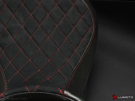 "Luimoto ""DIAMOND EDITION"" Seat Cover Ducati / Diavel / 2012"