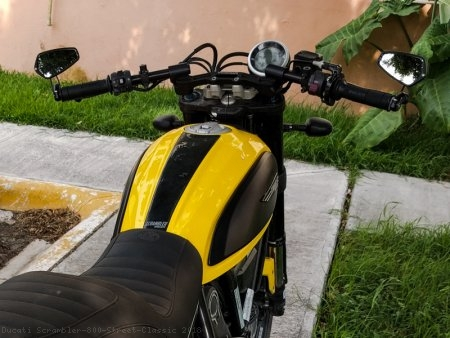 Clipon Riser Set with Adapter Plate by Woodcraft Ducati / Scrambler 800 Street Classic / 2018