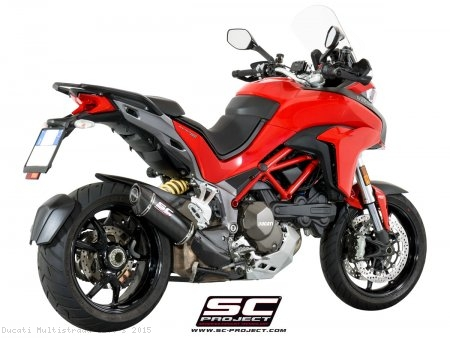 Oval Exhaust by SC-Project Ducati / Multistrada 1200 S / 2015