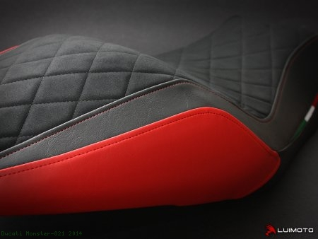 "Luimoto ""DIAMOND EDITION"" Seat Cover Ducati / Monster 821 / 2014"