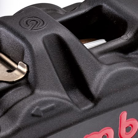 100 mm BLACK SERIES Radial M4 Cast Monoblock Caliper Kit by Brembo