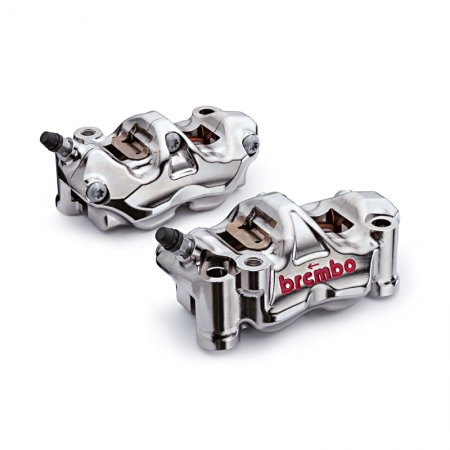 GP4-RX CNC 100mm Radial Billet Caliper Kit by Brembo