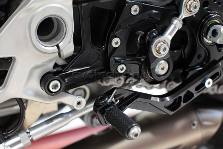Adjustable Rearsets by Evotech Italy