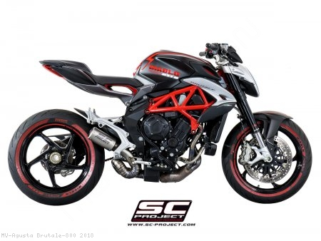 CR-T Exhaust by SC-Project MV Agusta / Brutale 800 / 2018