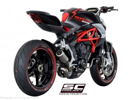 CR-T Exhaust by SC-Project MV Agusta / Brutale 800 / 2017