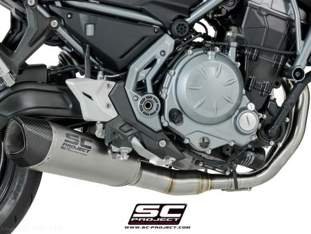 SC1-R Exhaust by SC-Project Kawasaki / Z650 / 2018