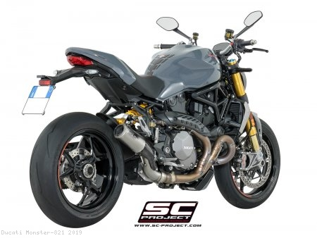 CR-T Exhaust by SC-Project Ducati / Monster 821 / 2019