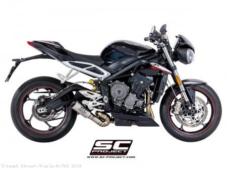CR-T Exhaust by SC-Project Triumph / Street Triple R 765 / 2019