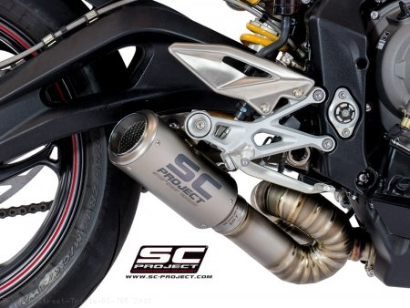 CR-T Exhaust by SC-Project Triumph / Street Triple RS 765 / 2018