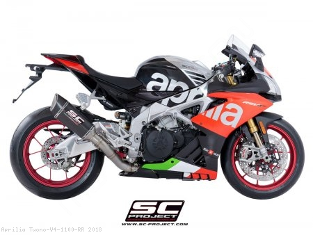 SC1-R Exhaust by SC-Project Aprilia / Tuono V4 1100 RR / 2018