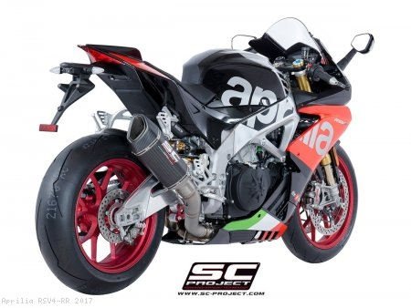 SC1-R Exhaust by SC-Project Aprilia / RSV4 RR / 2017