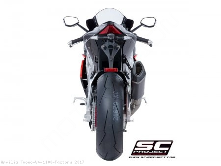SC1-R Exhaust by SC-Project Aprilia / Tuono V4 1100 Factory / 2017