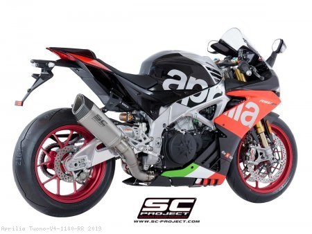 SC1-R Exhaust by SC-Project Aprilia / Tuono V4 1100 RR / 2019