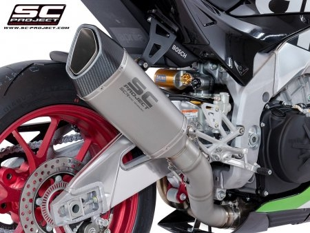 SC1-R Exhaust by SC-Project Aprilia / RSV4 RF / 2017