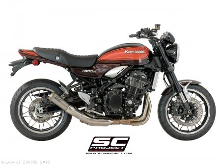 S1-GP Exhaust by SC-Project Kawasaki / Z900RS / 2018