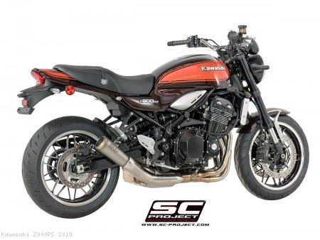 S1-GP Exhaust by SC-Project Kawasaki / Z900RS / 2019