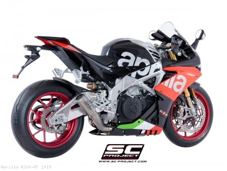 CR-T Exhaust by SC-Project Aprilia / RSV4 RF / 2019
