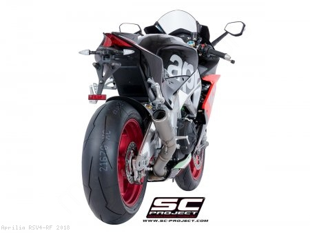 CR-T Exhaust by SC-Project Aprilia / RSV4 RF / 2018