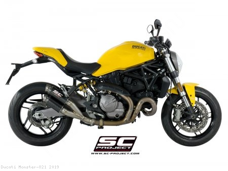 GP70-R Exhaust by SC-Project Ducati / Monster 821 / 2019