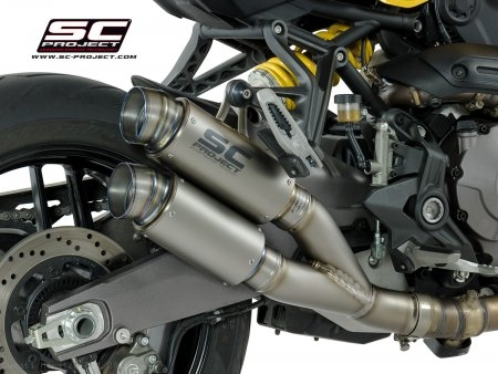 GP70-R Exhaust by SC-Project Ducati / Monster 821 / 2018