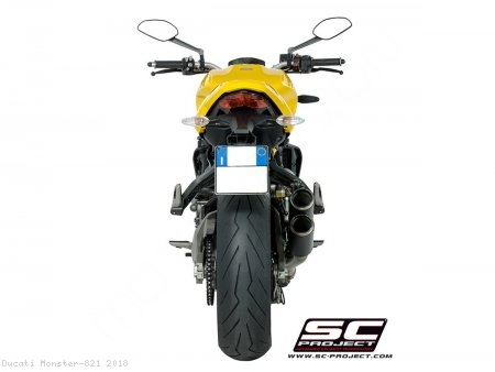 CR-T Exhaust by SC-Project Ducati / Monster 821 / 2018