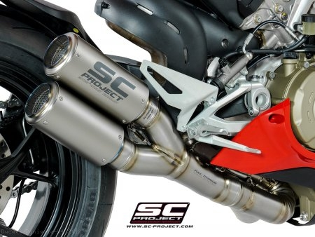 CR-T Exhaust by SC-Project Ducati / Panigale V4 / 2018
