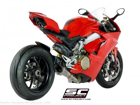 S1 Exhaust by SC-Project Ducati / Panigale V4 Speciale / 2018
