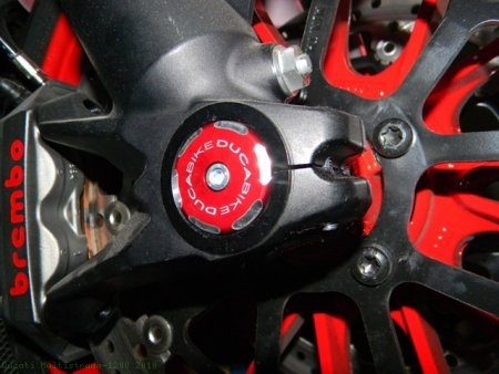 Right Side Front Wheel Axle Cap by Ducabike Ducati / Multistrada 1200 / 2010