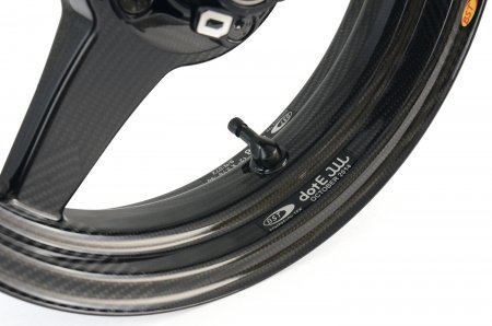 3 Spoke Carbon Fiber Wheel & Tire Set by BST