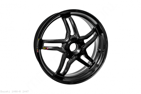 Carbon Fiber Rapid Tek Rear Wheel by BST Ducati / 1098 R / 2007