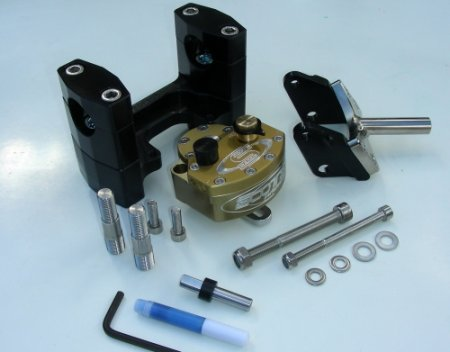 Complete SUB Mount Steering Damper Kit by Scotts