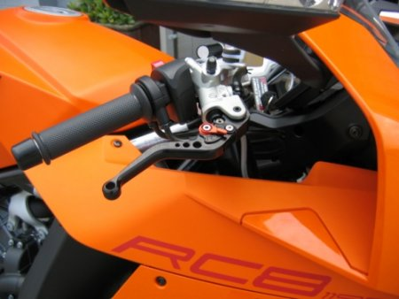 Pazzo Racing Adjustable Brake and Clutch Levers