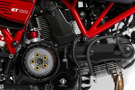 Wet Clutch Clear Cover Oil Bath by Ducabike Ducati / Monster 1200 / 2015