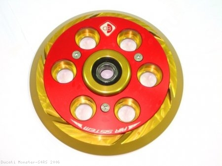 Air System Dry Clutch Pressure Plate by Ducabike Ducati / Monster S4RS / 2006