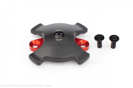 Timing Inspection Port Cover with Slider by Evotech Italy Ducati / Multistrada 1200 Enduro / 2017