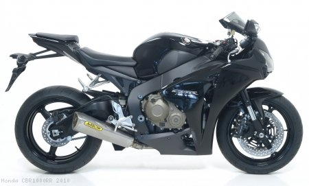 "Titanium  ""Competition"" Trophy Full System Exhaust by Arrow Honda / CBR1000RR / 2010"