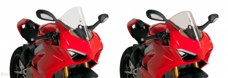Racing Windscreen by Puig Ducati / Panigale V4 / 2019