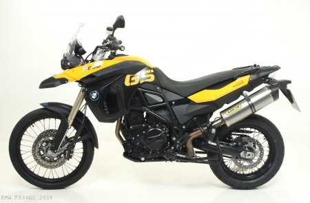 Maxi Race-Tech Exhaust by Arrow BMW / F800GS / 2014